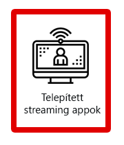 Streaming appok